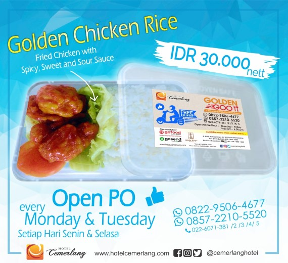 Golden Chicken Rice