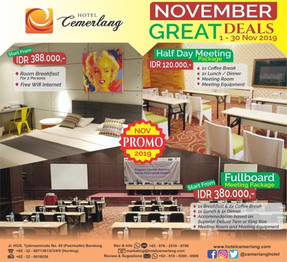 November Great Deals