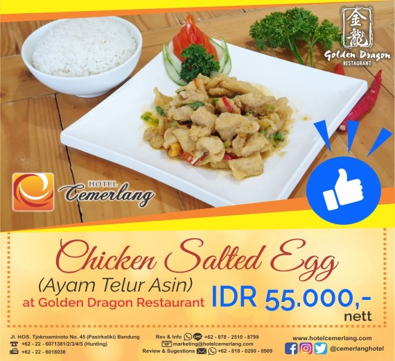Chicken Salted Egg