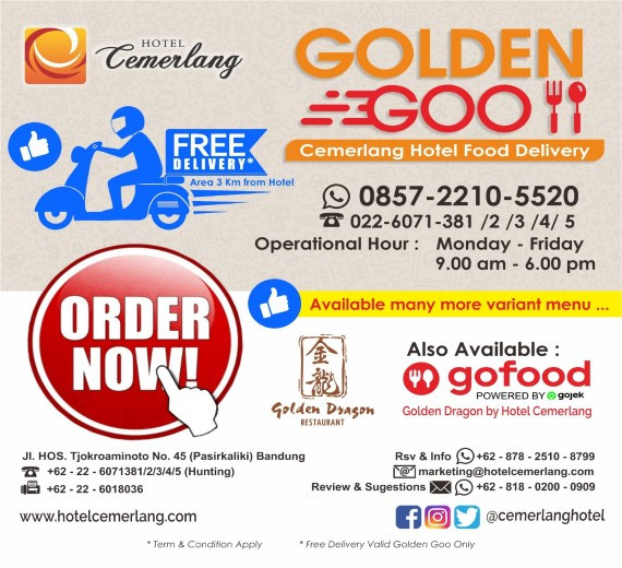 Golden Goo Food Delivery