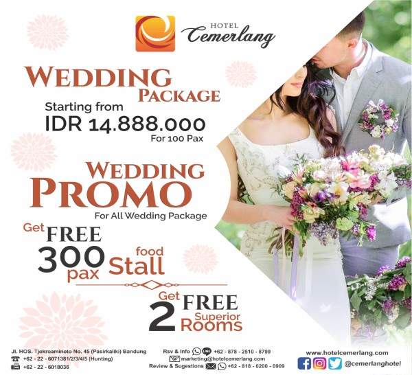Promo Wedding Package 2019
