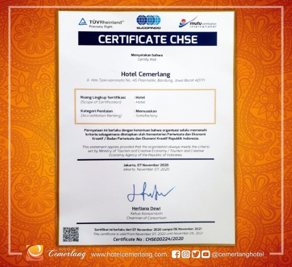 CHSE Certified
