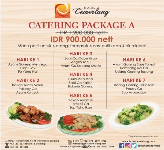 Paket Catering A