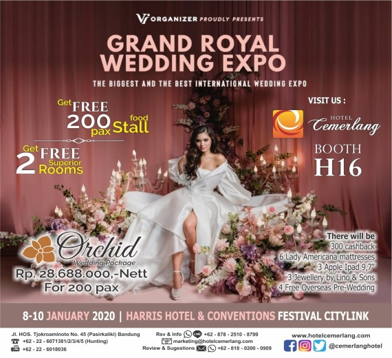 Grand Royal Wedding Expo 2020