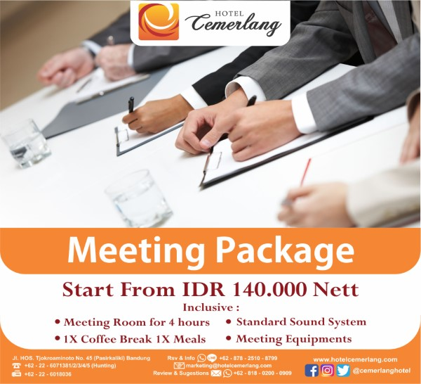Meeting Package 2019