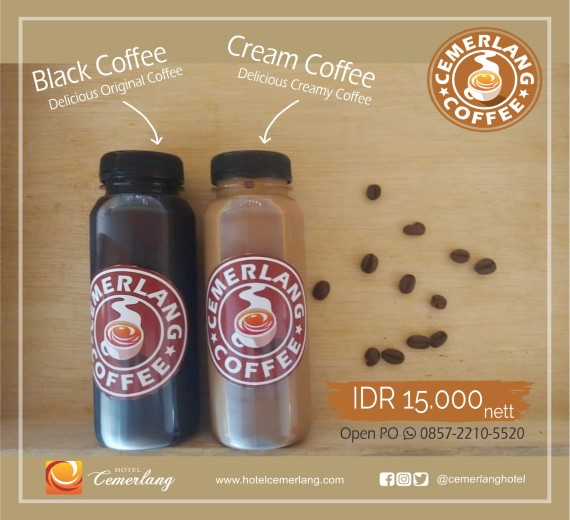 Black & Cream Coffee